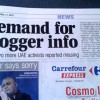 Newspapers Inconsistent Over Blogger Arrests