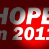 Hope in 2011: People and Civil Society Stand Tall