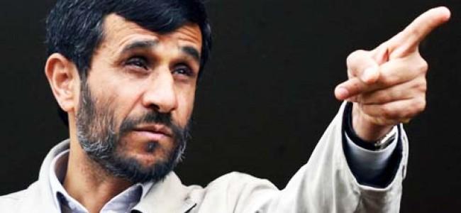 He Who Got Slapped: Ahmadinejad