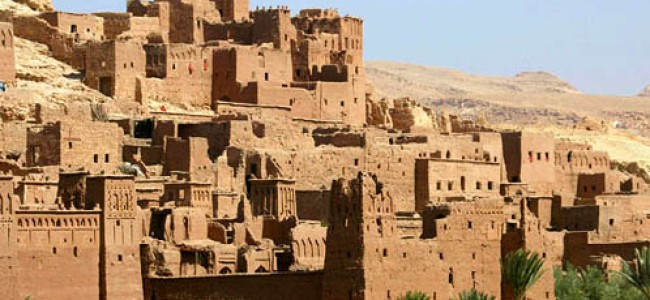 Morocco: Tourists Knocking at the Kasbah