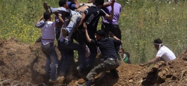 Israeli Attack on Unarmed Protesters – Criminal