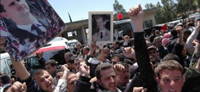 Whisper it – things might be changing in Syria. A bit.