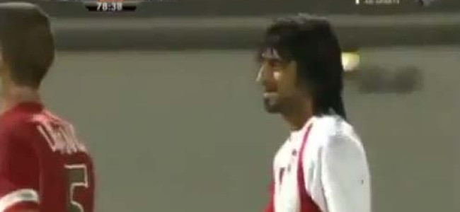 UAE Footy Team's Backheel Penalty – Tut Tut…