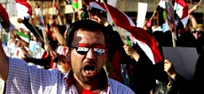 Arab Silence, West's Symbolism, to Backfire in Syria