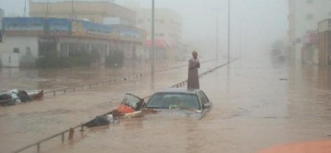 Jeddah Residents: 'Rain, Rain Stay Away'