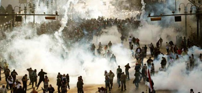 "Egypt: SCAF ""Teargas"" Claim An Insult to Victims"