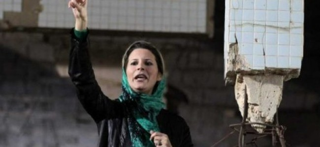 News Analysis: Gaddafi's Daughter in 'Call to Arms'