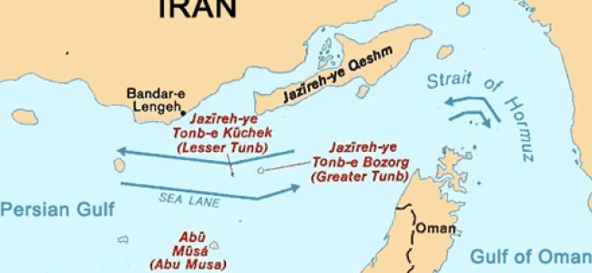 U.S. Warns Iran Closing the Strait of Hormuz Means War