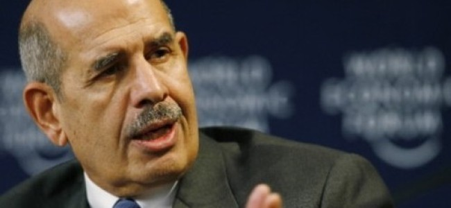 "El Baradei Drops Out: ""It's as if Mubarak had Never Been Overthrown"""