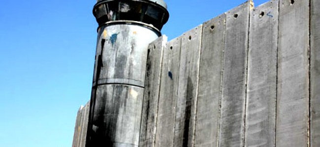 Israel: World's First State Enclosed Within Own Walls, Ethnic Cleansing in Process