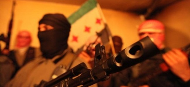 Playing 'Cat and Mouse' with the Syrian Army