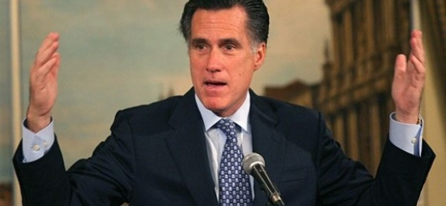 Romney: You Know Things Aren't Going Well When…
