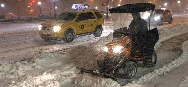 Snow Joke: Saudi Students 'Enjoy' U.S Storm