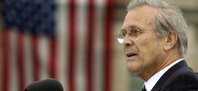 Applying 'The Rumsfeld Test' on the Kingdom