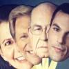 'Sauce, Goose, Gander': Political vs Family Ties in Public Debate