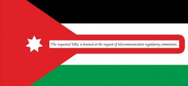 Banned Sites: Jordan's New Legislation Takes Effect