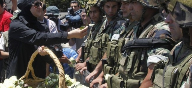 Sectarian Division Undone: Army Unifies Lebanese People