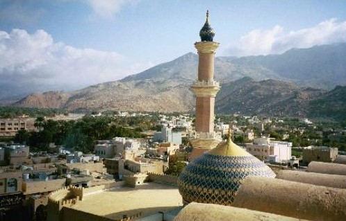The_beautiful_town_of_Nizwa_Oman-Nizwa