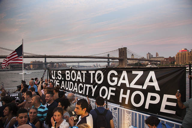 Drop Dead Message To U S Gaza Flotilla Mideastposts Com