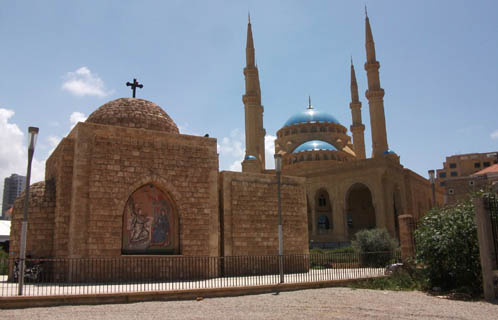 Saydet al-Nourieh and Al-Amin Mosque