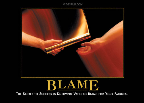 the history of the blaming game Corinne mosher examines how the media use the blame game to demonize guns and the second amendment.