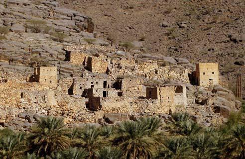 Al Hamra village in Oman