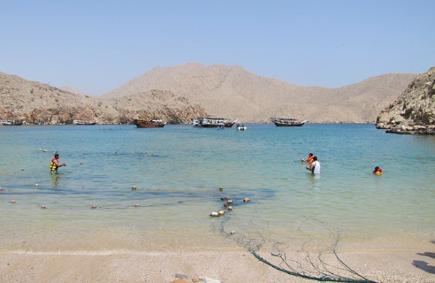 Musandam Fjord and Dhows