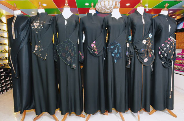 want each of us to describe what would be the perfect abaya. Let's ...