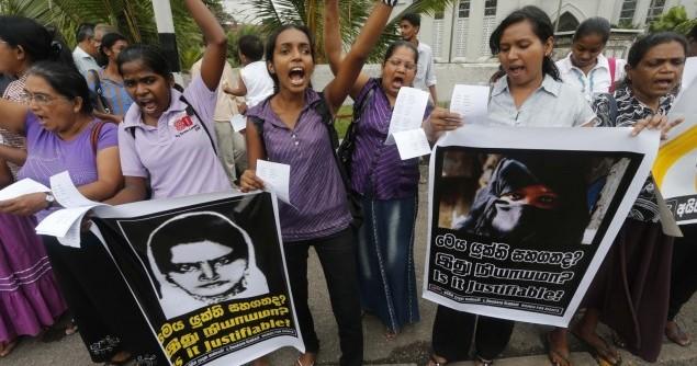 Sri Lanka Saudi Maid Executed