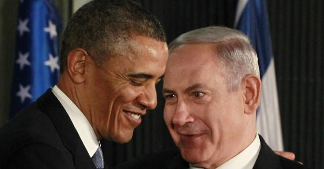 U.S. President Barack Obama participates in a news conference with Israel's Prime Minister Benjamin Netanyahu in Jerusalem