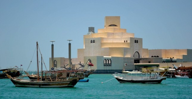 Doha-dhows-and-museum