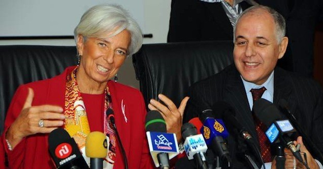 Mustapha Kamel Nabli, Christine Lagarde